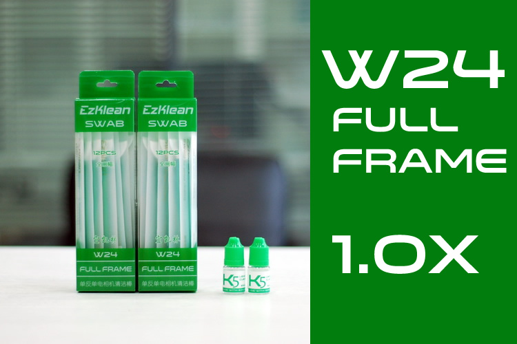 W24 Full-Frame 1.0x Swab + K5 Solution, 2 packs